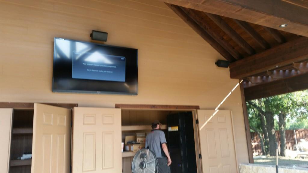 Outdoor Surround Sound Installed
