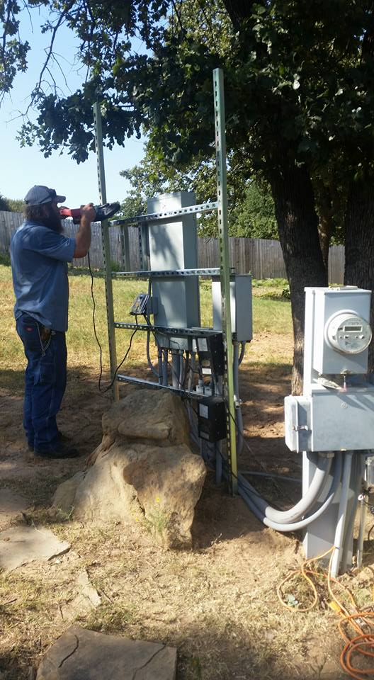 Electrical Panel Installation In Argyle,TX