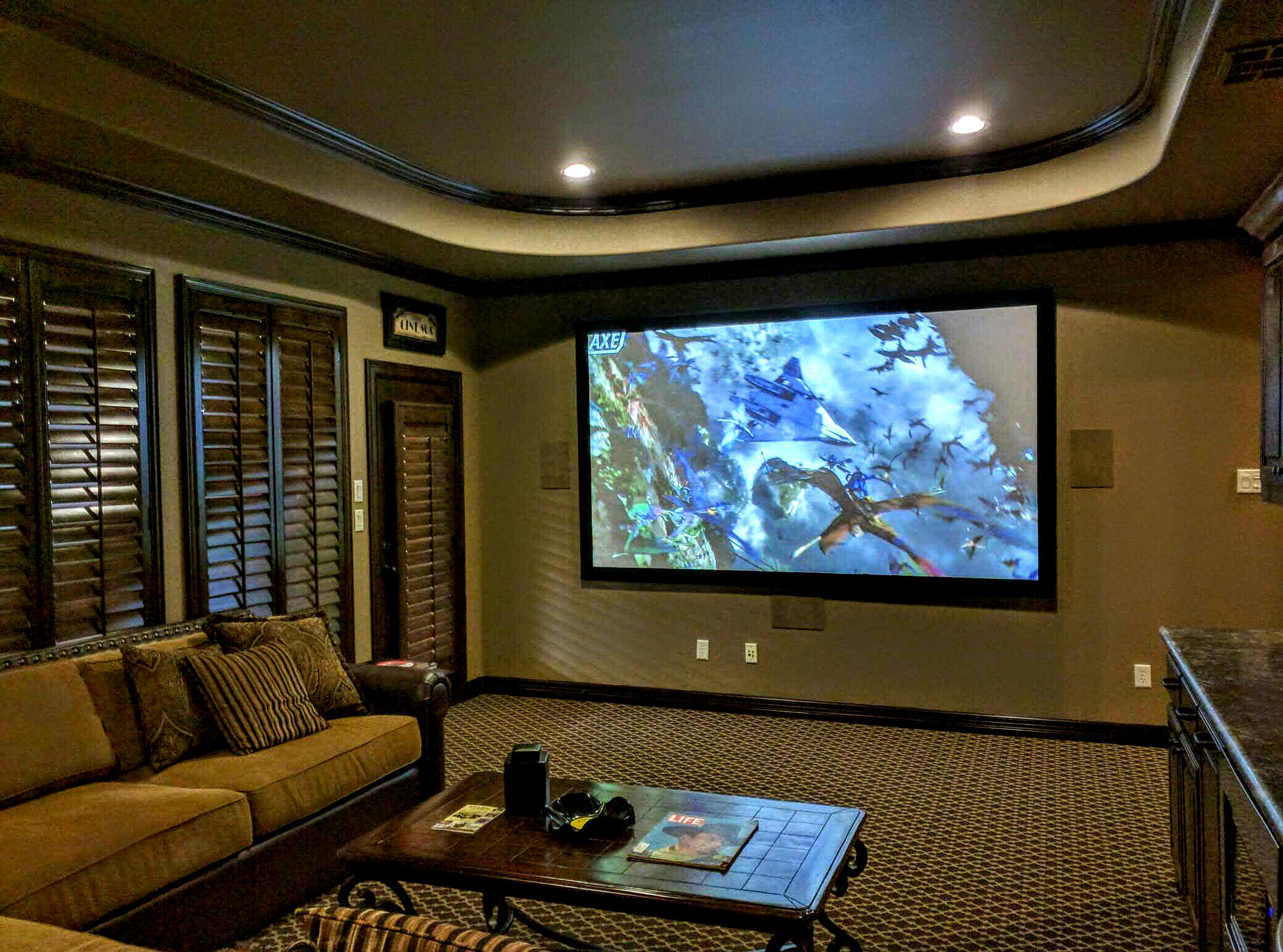 Flower Mound Home Theater Installation