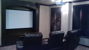 media room installation