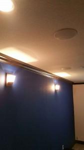 in ceiling speakers