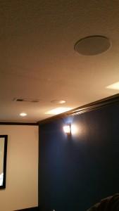 speakers installation